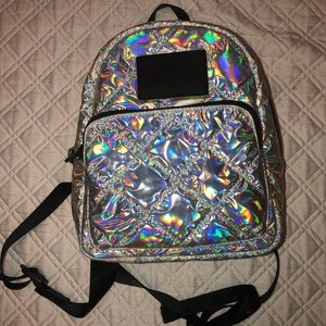 PINK Holohraphic mini book bag